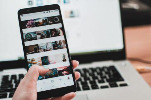 social foto o grafiche