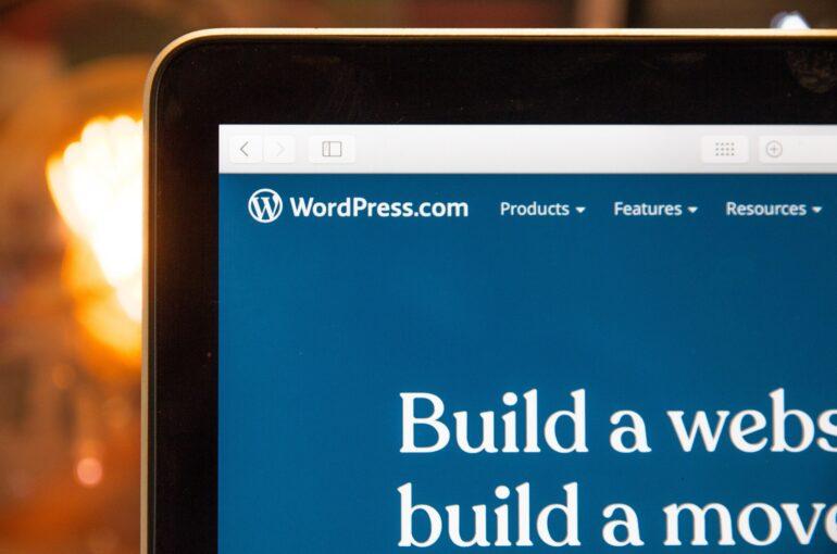 sito in wordpress